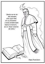 Resultado De Imagen Para Papa Francisco Dibujo Periódico Mural