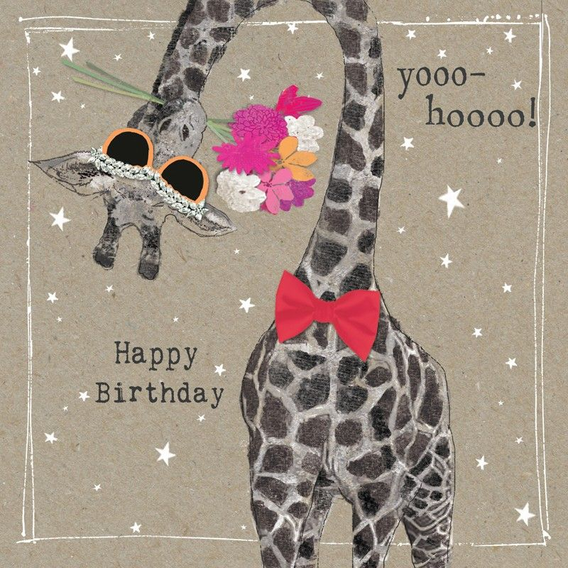 Birthday Card. This Greetings Card Is Hand-finished With
