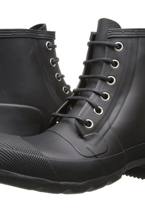 Hunter Lace-Up Rubber Sneakers outlet limited edition a1ZZhP0WFV