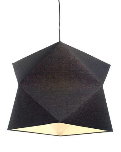 Le luminaire vegas noir habille votre espace par son for Accesorio de iluminacion castorama