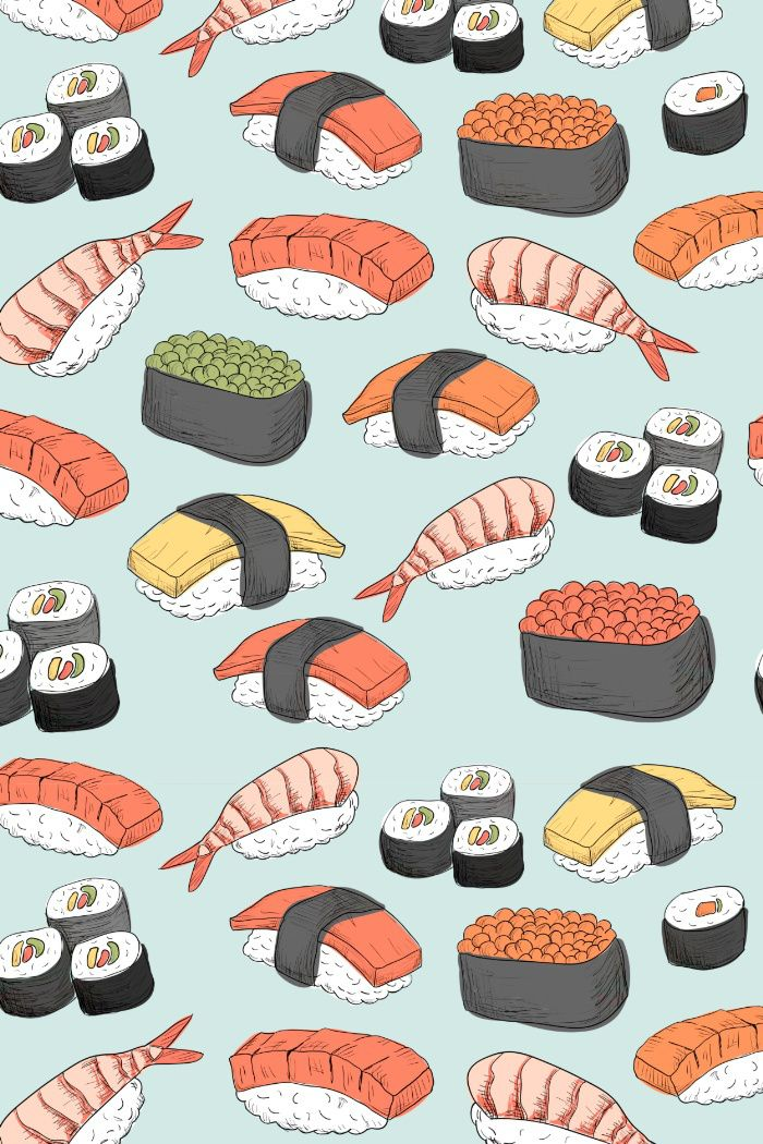 Sushi-licious patterns