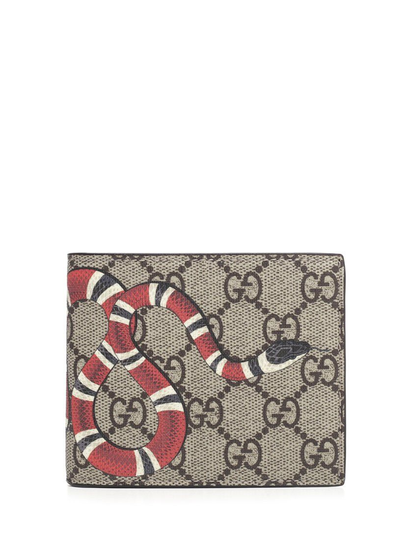 839d2cd43dcb53 GUCCI GUCCI KING SNAKE GG SUPREME WALLET. #gucci | Gucci in 2019 ...