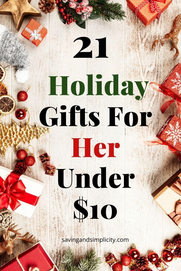 21 Gifts For Her Under 10 Diy gifts cheap, Budget