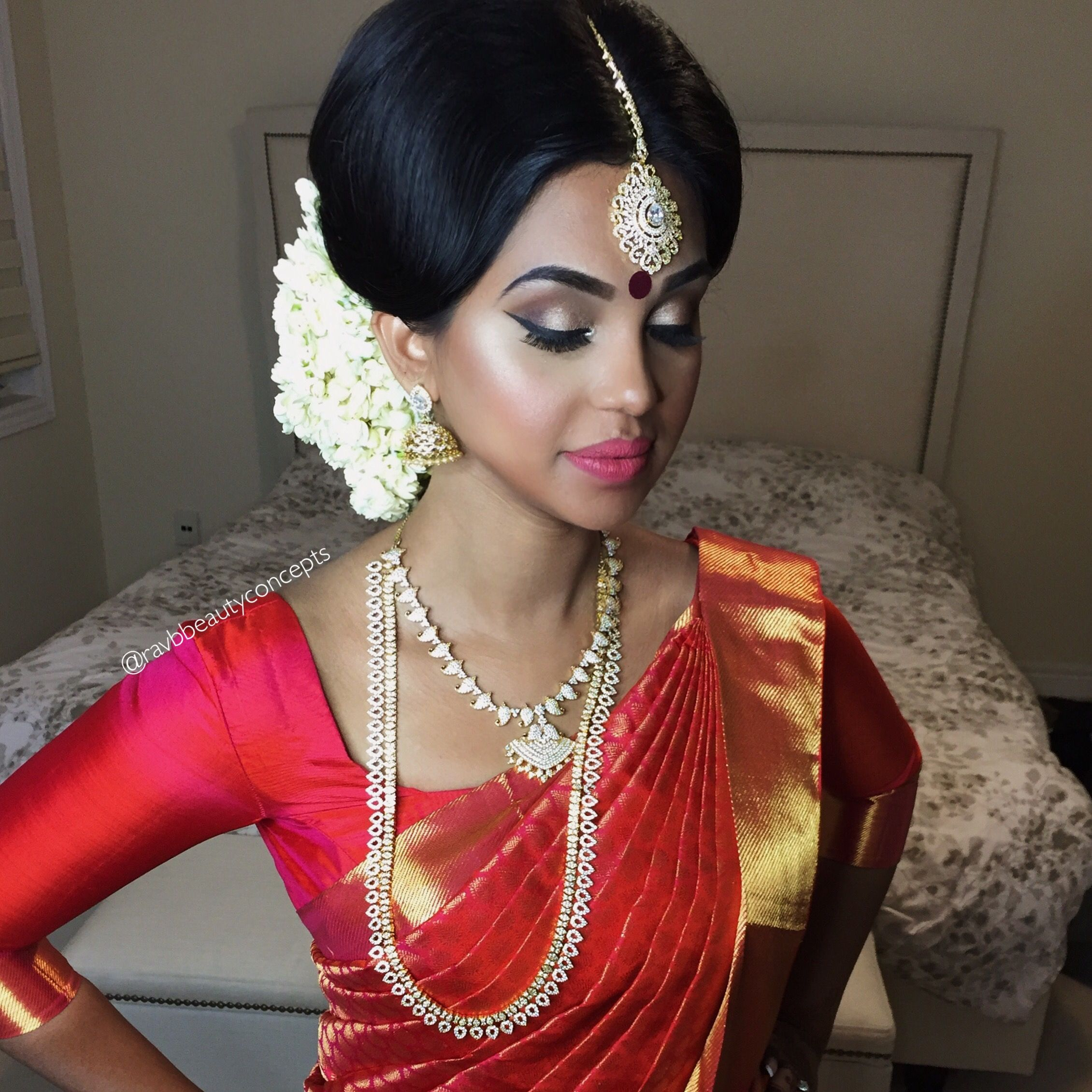 Indian Bridal Makeup, Indian Bridal Hair, Bridal Makeup, Bridal Hair ...