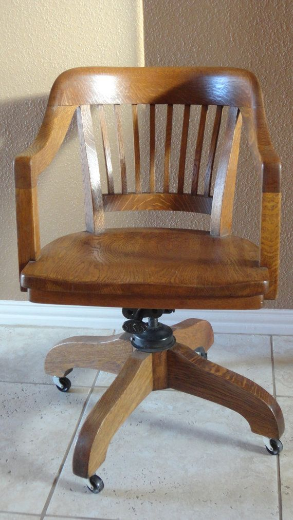 Sikes Chair Company Cheap Beach Chairs Reserved For Mdjurrens Two Antique And Milwaukee Banker Office Courtroom Swivel Fully Restored Tiger Oak