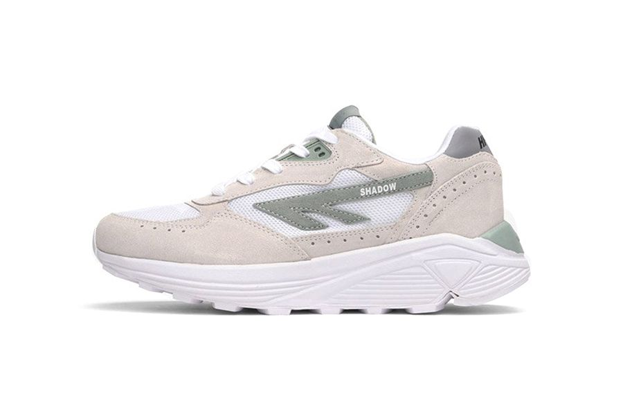 Hi tec releases white sage green silver shadow rgs sneakers