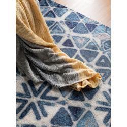 Photo of benuta Trends Flachgewebeteppich Tosca Blau 195×285 cm – Moderner Teppich für Wohnzimmerbenuta.de
