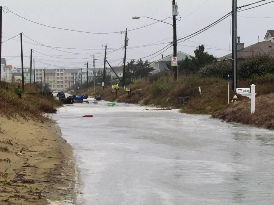 Flooding At Sandbridge In Va Beach Photo From Selina Sanders