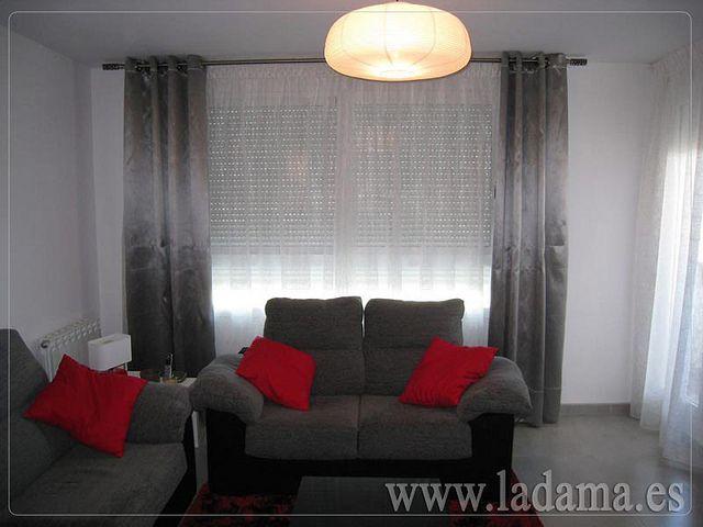 Decoración para salones modernos: cortinas, paneles japoneses ...