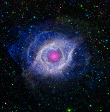 HELIX NEBULA POSTER Dying Star Gases Astrology RARE NEW