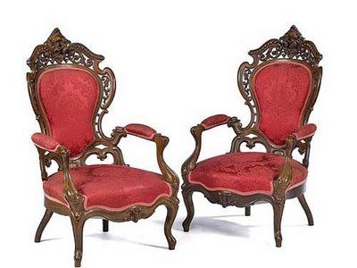 Red Chairs Victorian Furniture Victorian Things I Like