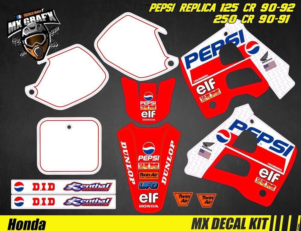 Blue Fox Kit D/éco Moto//MX Decal Kit Yamaha DT50