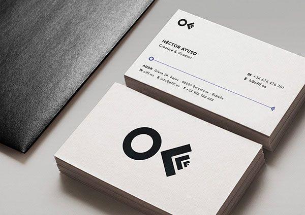 minimalist bc - Minimalist Business Card