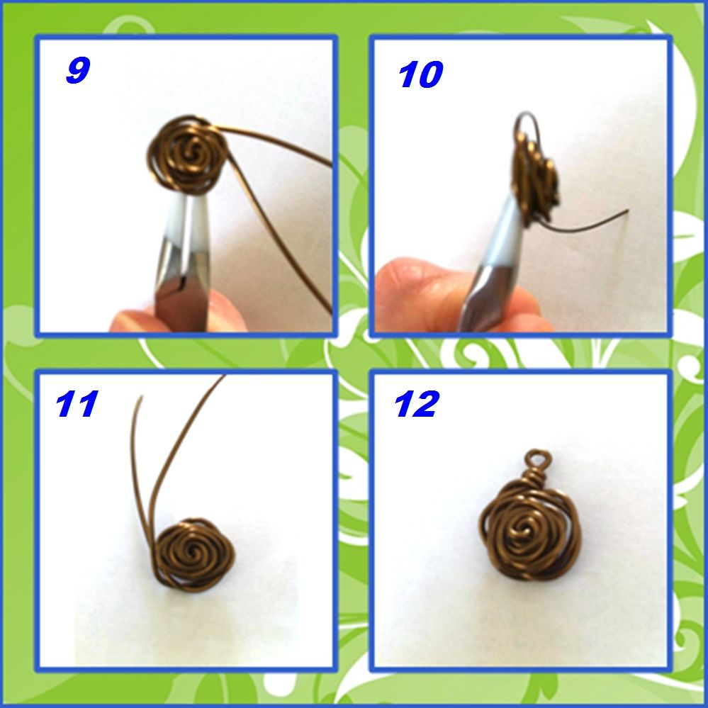 Blue Forest Jewellery's blog: Handmade Monday: wire roses