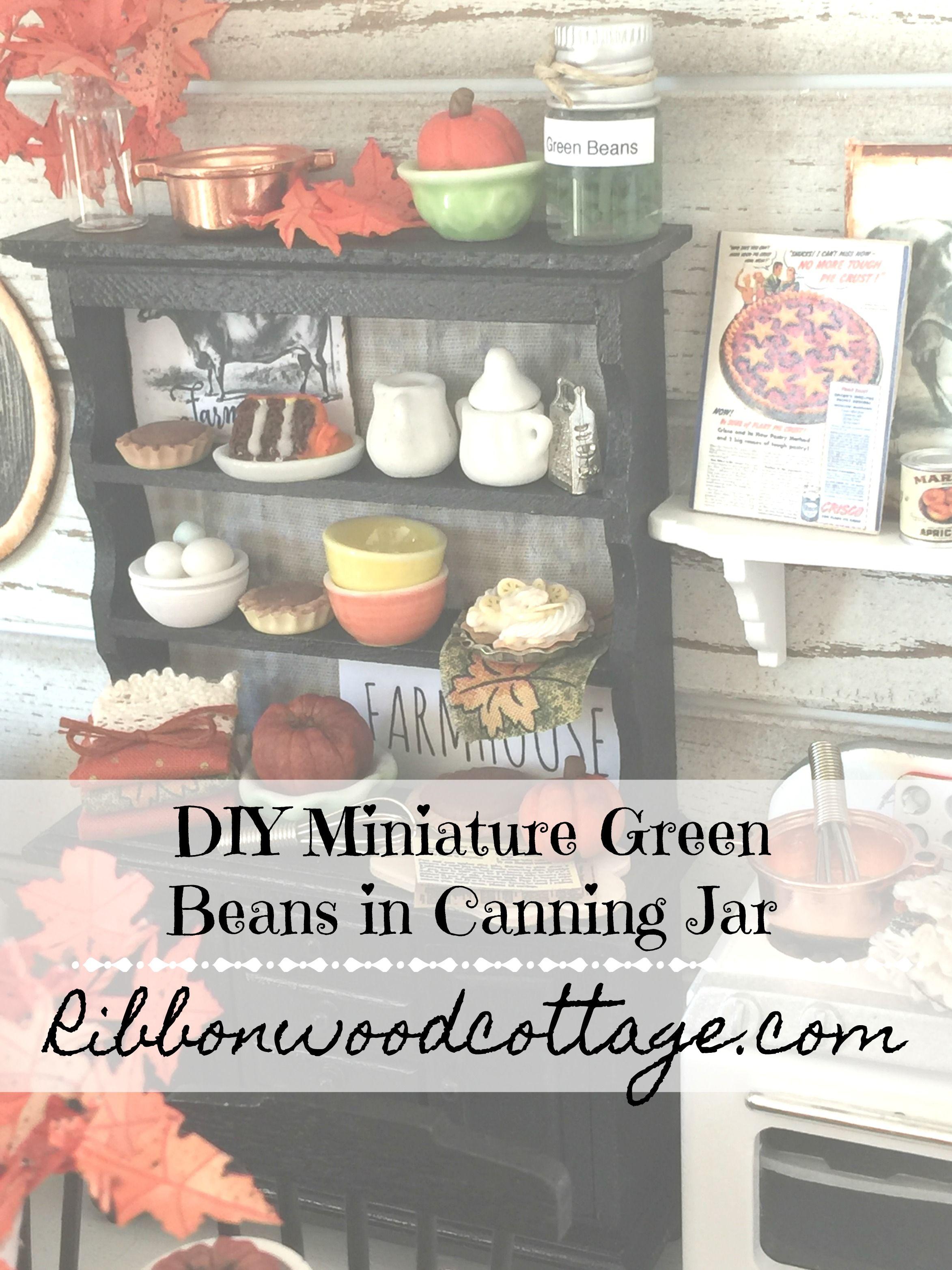 DIY make the cutest canning jar