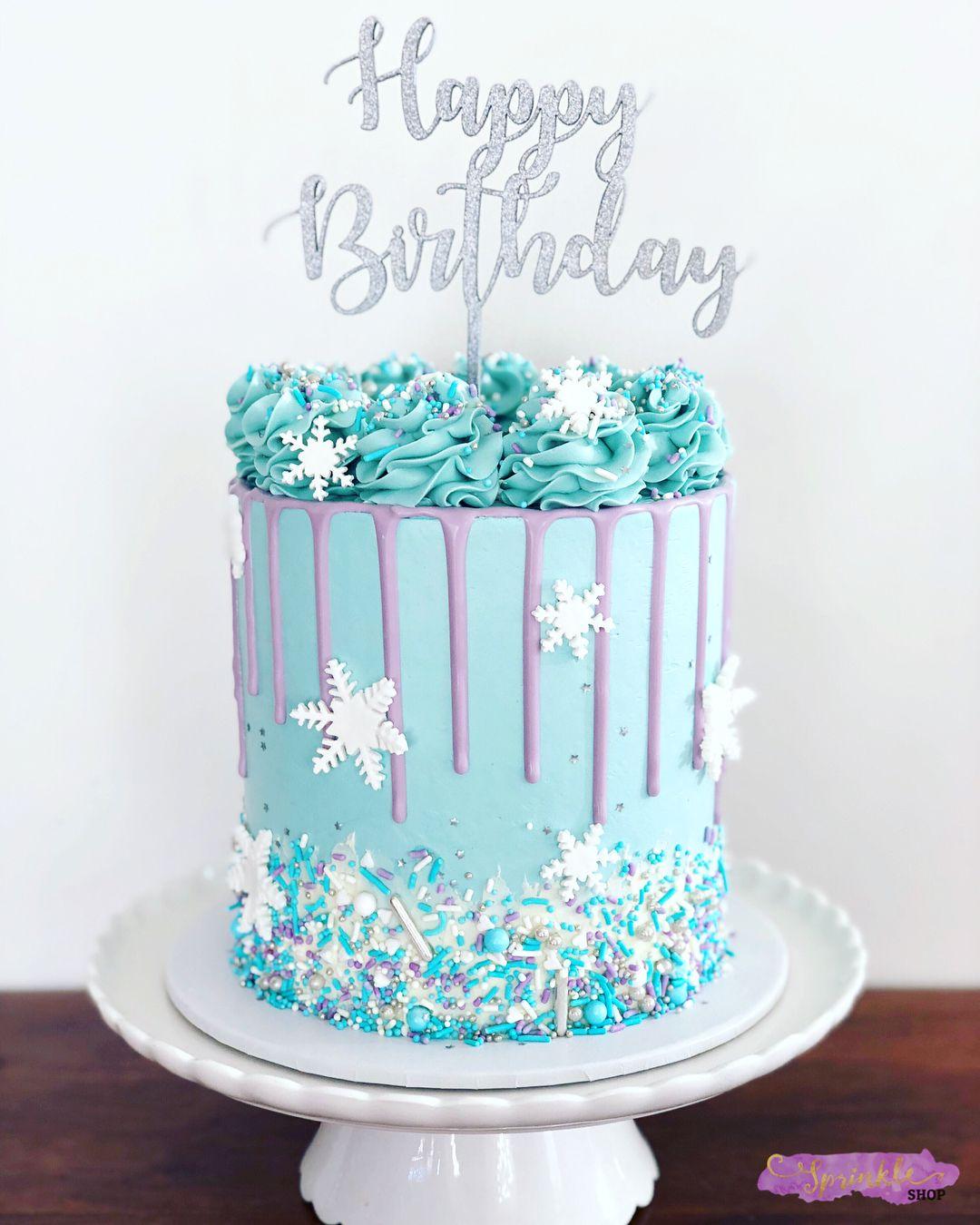 Frozen Buttercream Cake From Sprinkle Shop Sprinkle Shop