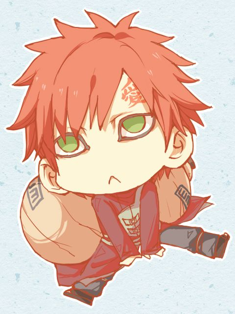 Pin by Mibu No Ookami on Naruto | Naruto gaara, Gaara, Naruto Gaara And Naruto Chibi