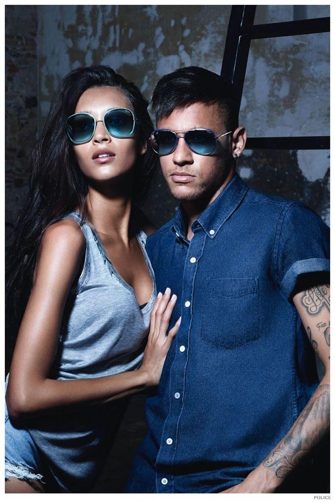 c29d5cd3a5 Neymar Jr. Fronts Police Spring Summer 2015 Eyewear Campaign ...