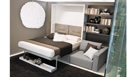 Swing Sofa Canape D Angle Le Jour Lit Et Fauteuil La Nuit Via La Maison Du Convertible Rue Reaumur Paris 3 Lit Escamotable Canape Lit Lit Convertible