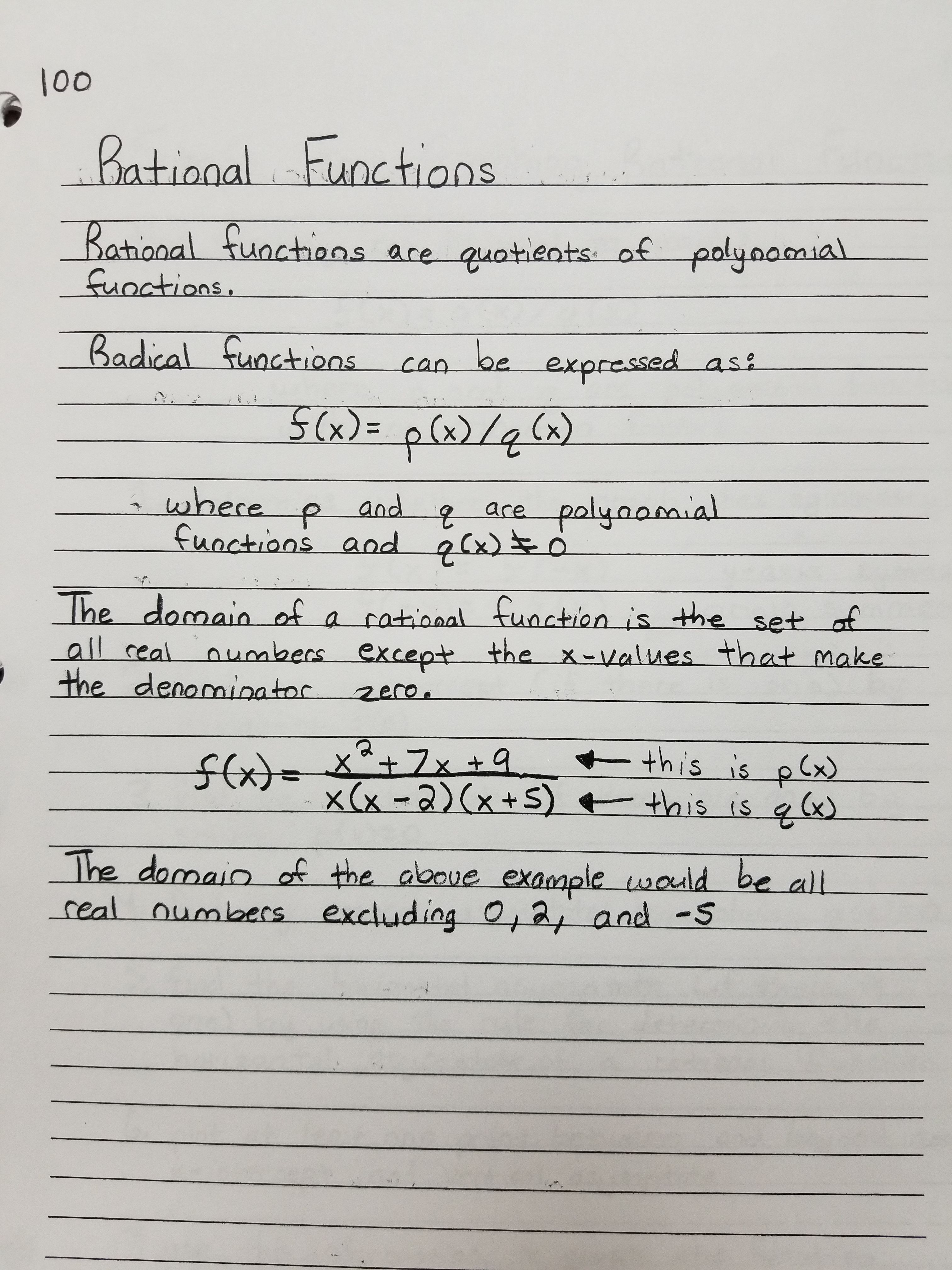 Rational Functions Rational Function Differential Calculus Calculus [ 4032 x 3024 Pixel ]