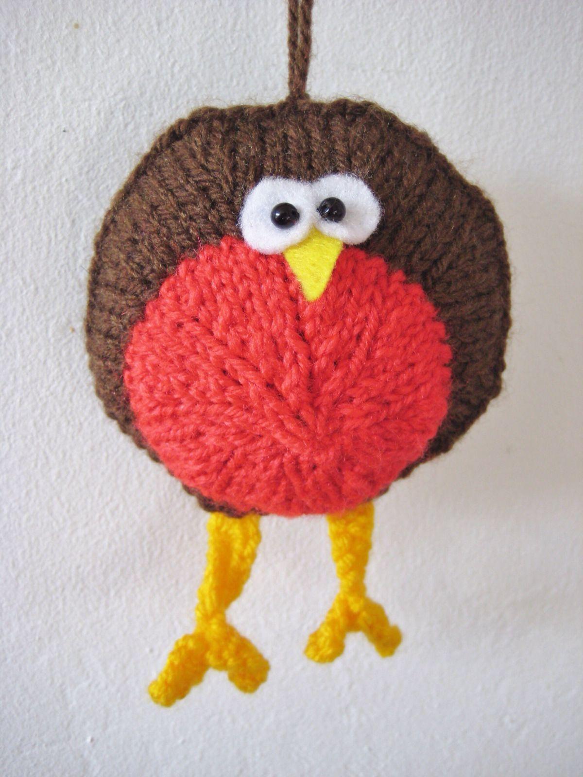 Round Robin the Bird Free Knitting Pattern PDF here: http ...