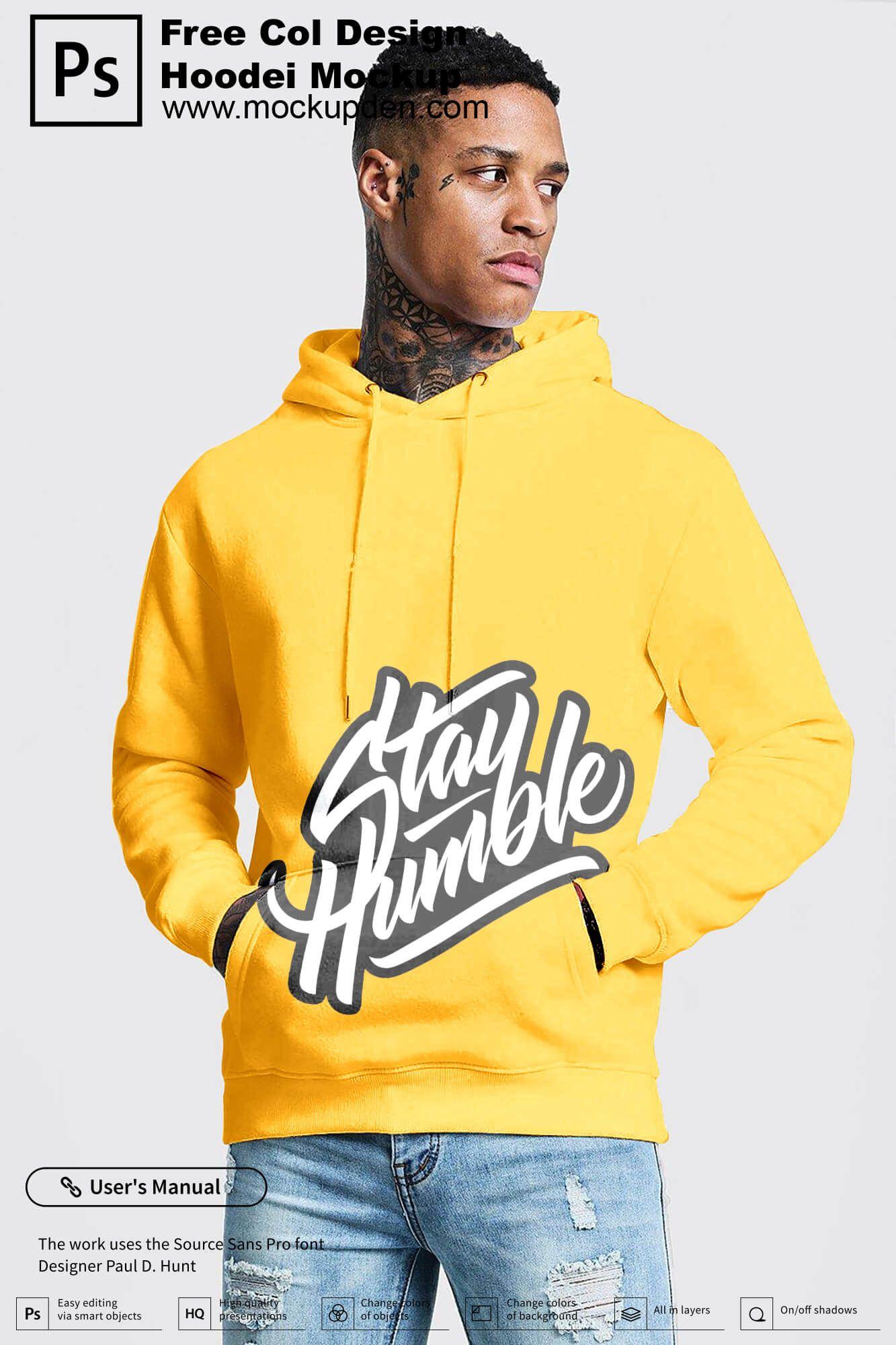 Download Free Cool Design Hoodie Mockup Psd Template Hoodie Mockup Hoodie Mockup Free Hoodie Design