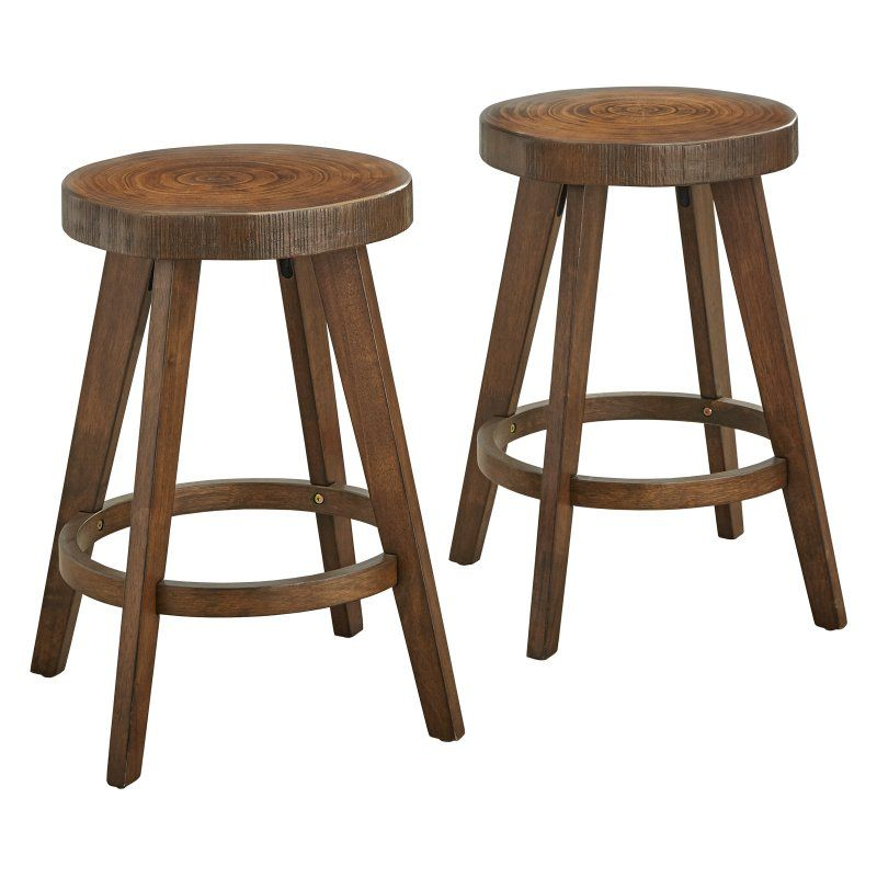 Target Marketing Systems Woodward 24 In Backless Counter Stool