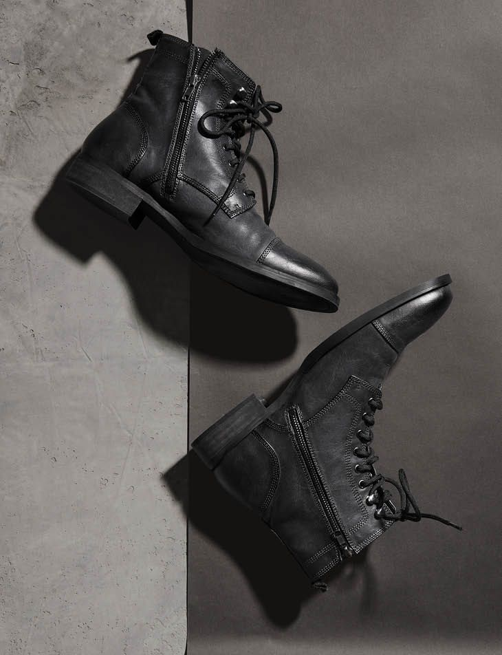 d625d509ab56fd Boots. Dark gray. H M Modern Essentials selected by David Beckham ...