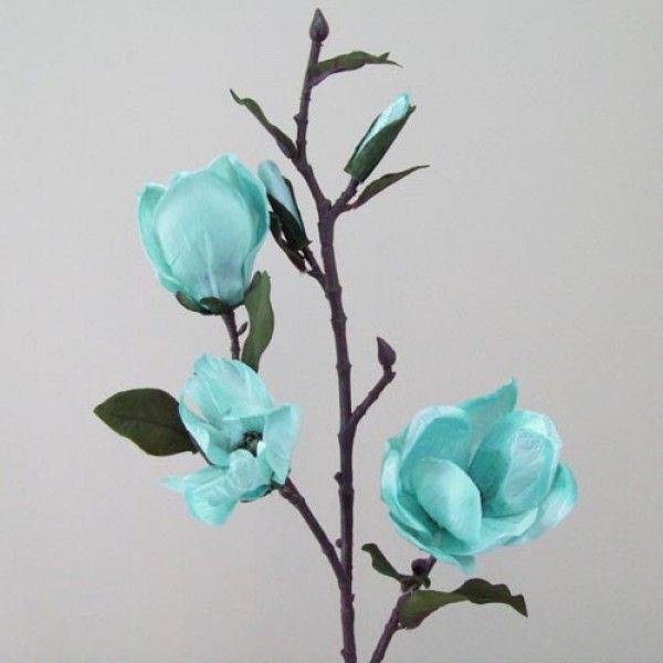 Silk magnolia branch satin lustre duck egg blue m009 i4 duck egg silk magnolia branch satin lustre duck egg blue m009 mightylinksfo