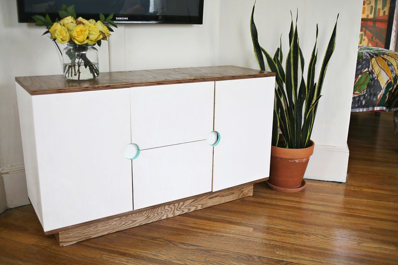 Make Your Own Media Cabinet | Media cabinet, Hide wires and Tv stands