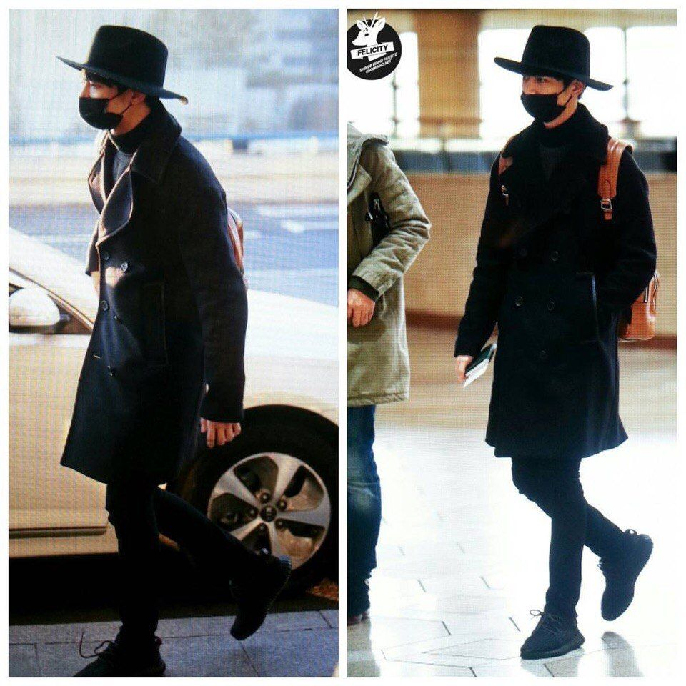 160210 Gimpo Airport To Japan #Minho #Shinee