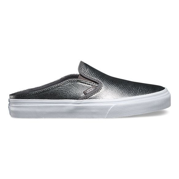 f093af6e043d Embossed Leather Slip-On Mule | Shop Womens Shoes at Vans | Shoes ...