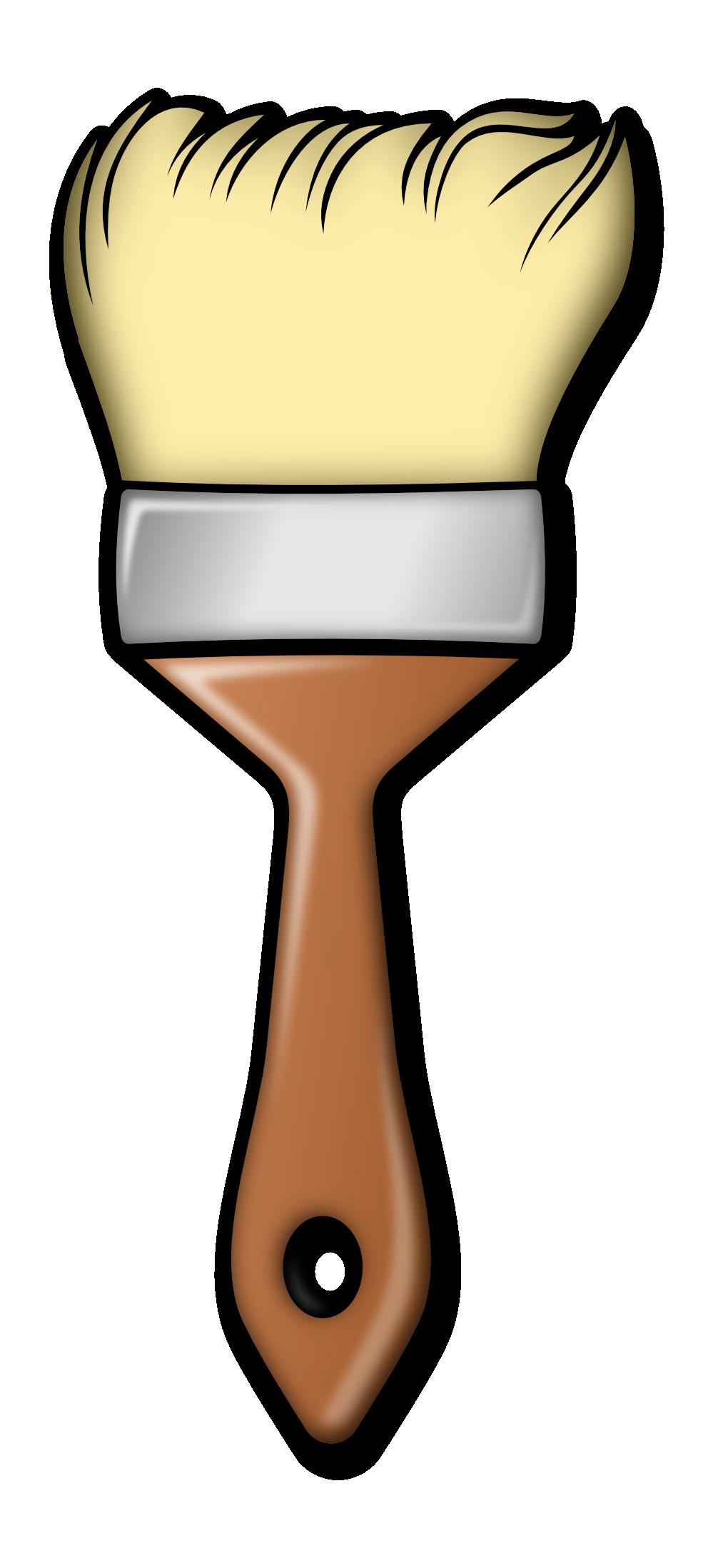 paint brush clip art clip art misc clipart clipart paint brush and easel clip art paint brushes palette