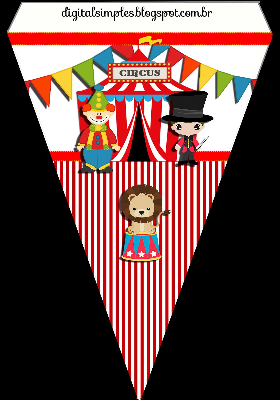 bandeirinha+tema+circo+4+14x20.png (1120×1600) | festa cris ...