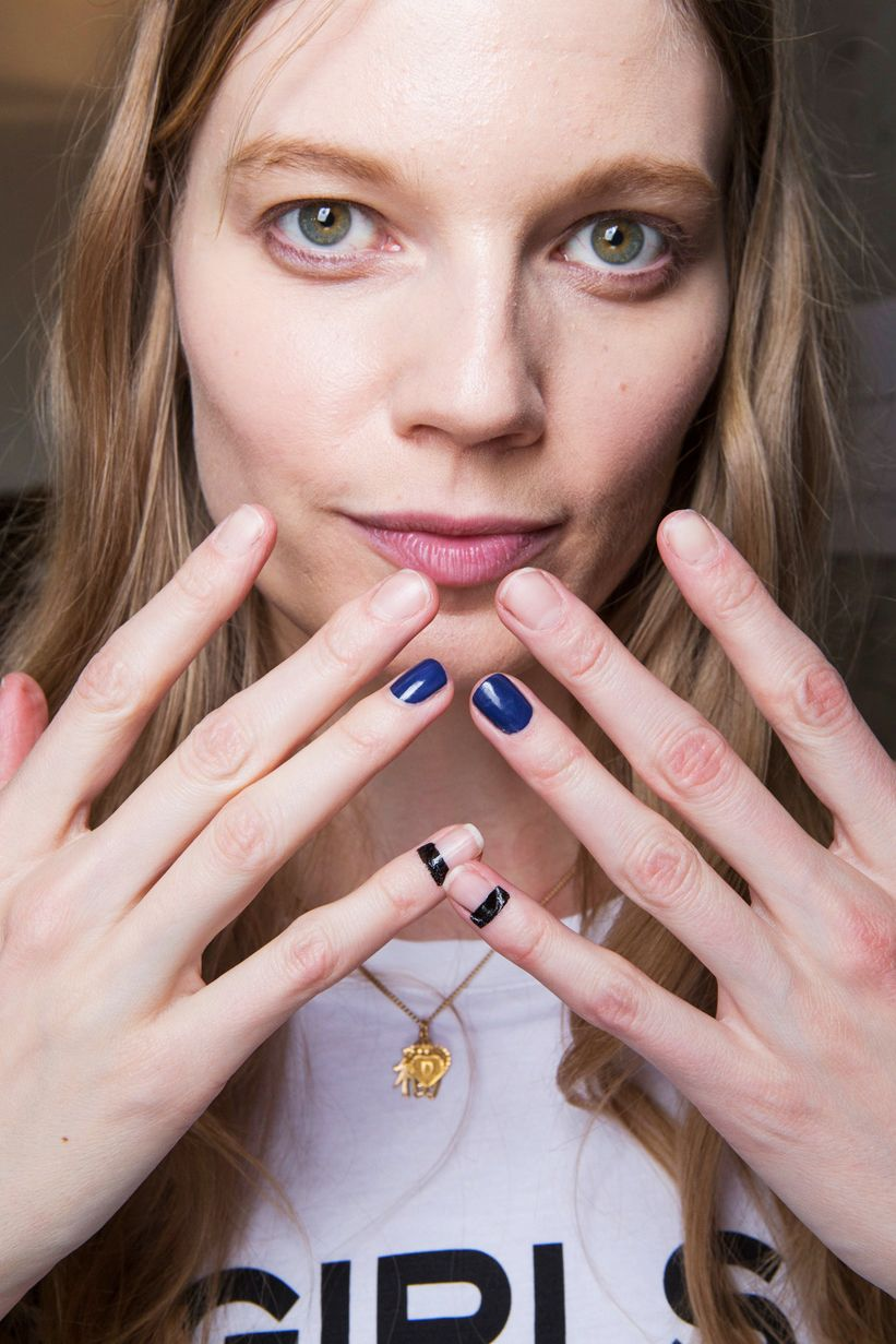 The Best Nail Looks From NYFW Fall 2017 | Trends, Fall nail trends ...