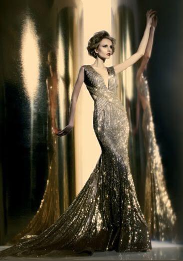 beautiful image...abed mahfouz gown.