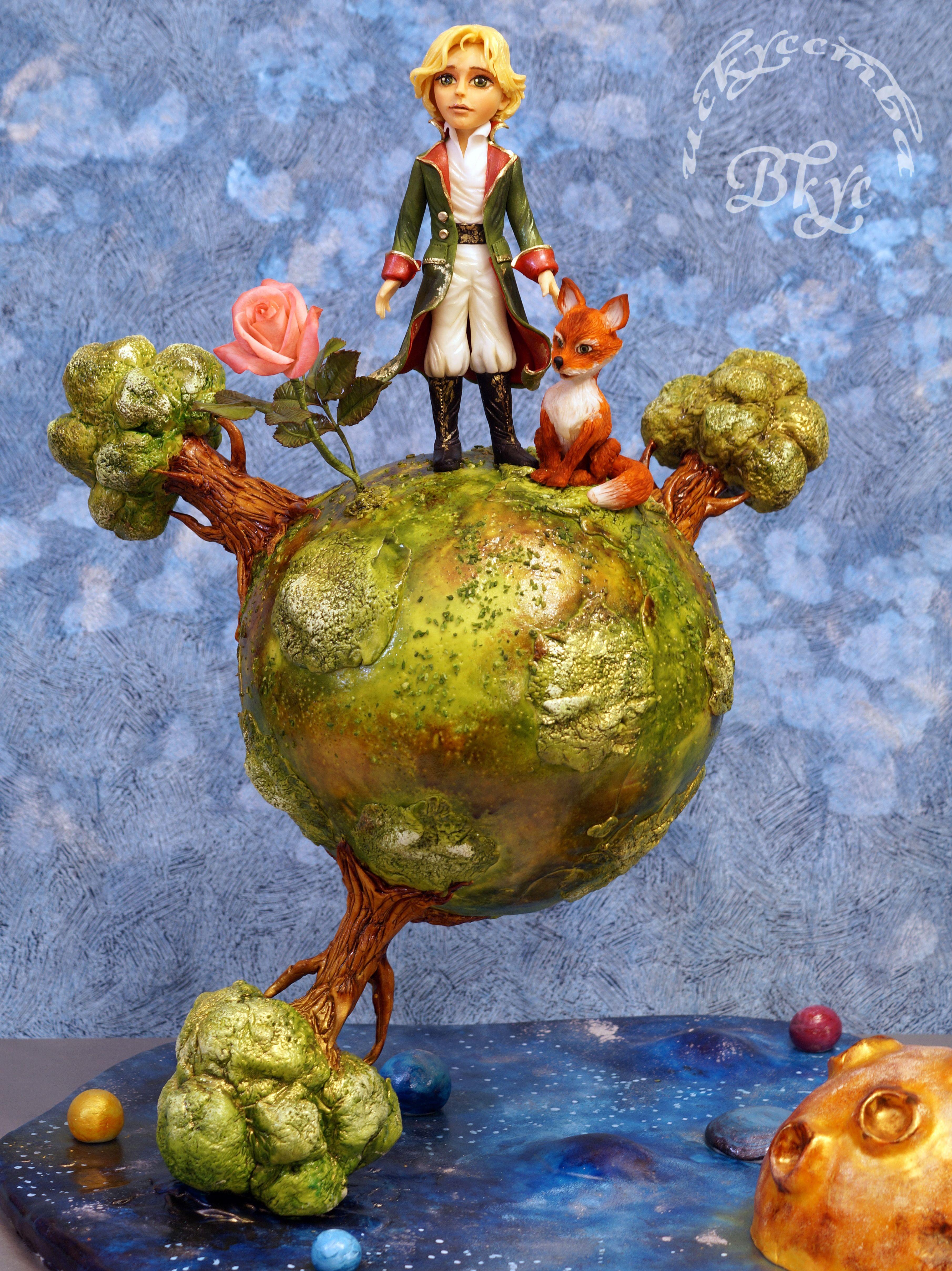 "Edible Art | Торт по мотивам ""Маленького Принца"" Экзюпери."
