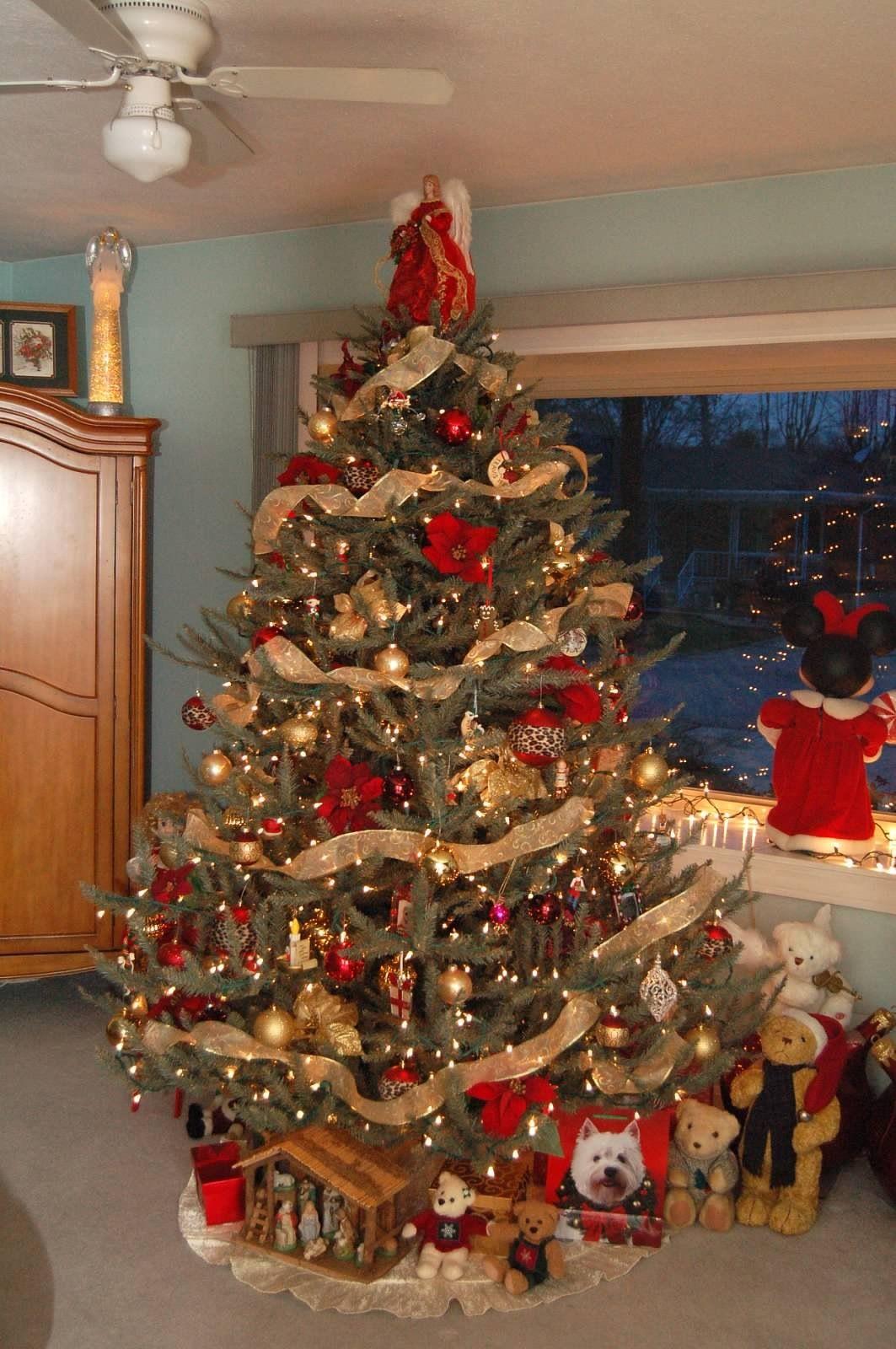 Cheetah Christmas Tree By Chrisy S Creations Christmas Tree Christmas Tree Decorations Christmas