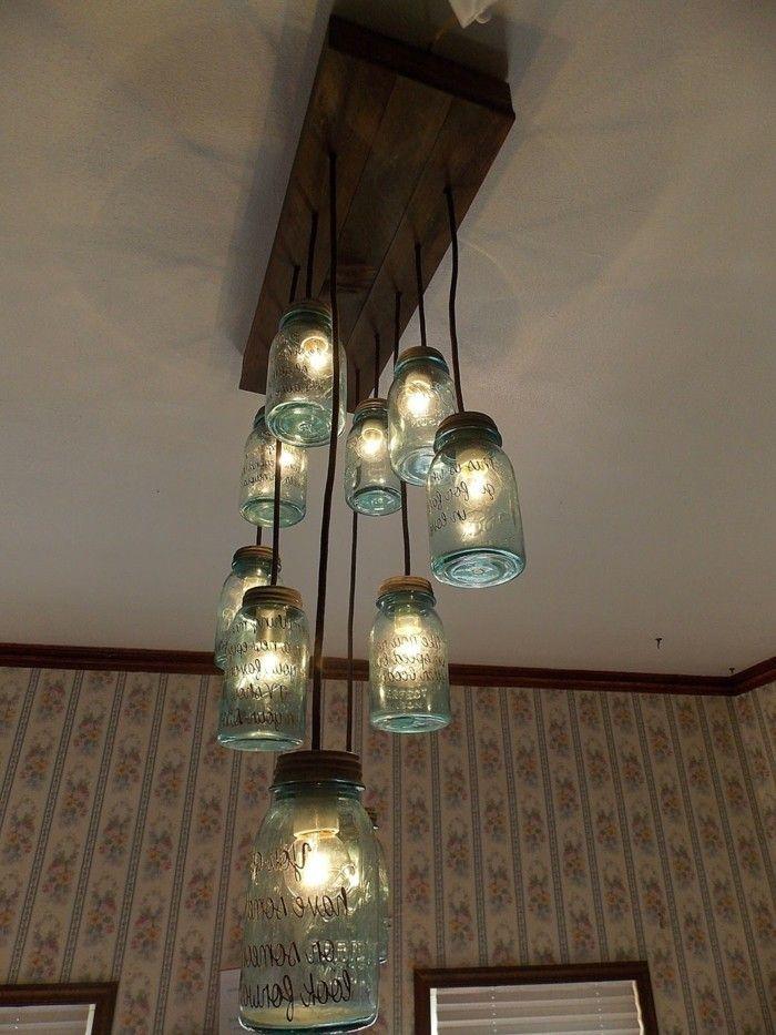 Favorit 30 DIY Lampe Ideen für ungewöhnliche Beleuchtung zu Hause | alte TC54