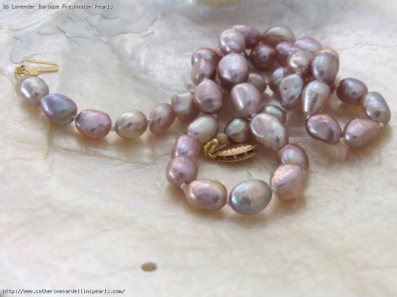 Hand Strung Freshwater Pearl Necklaces Freshwater Pearls Pearls Baroque Pearls