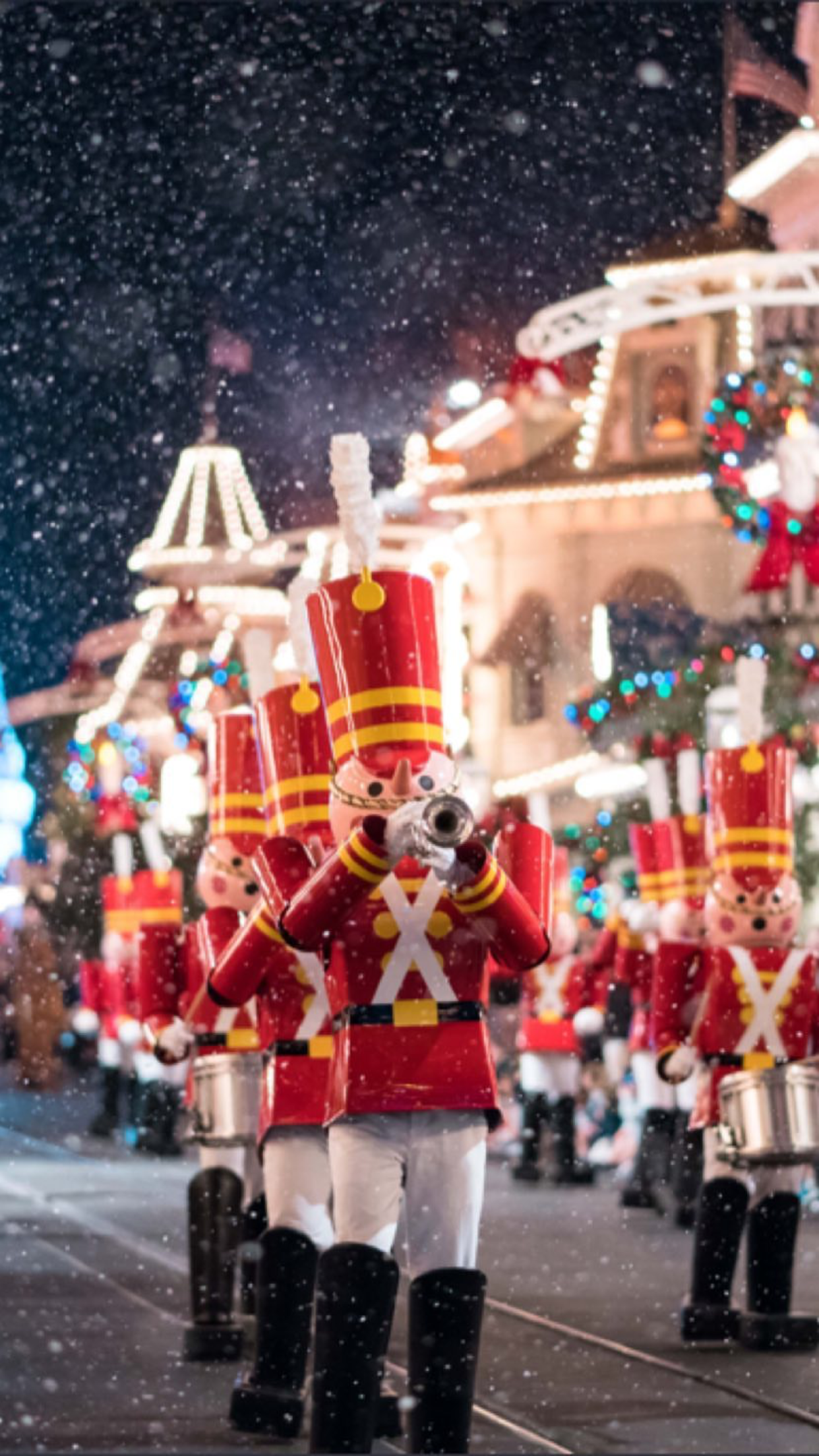 Wdw Toy Soldiers Disneyland Disneyland Parijs Disney Kerst