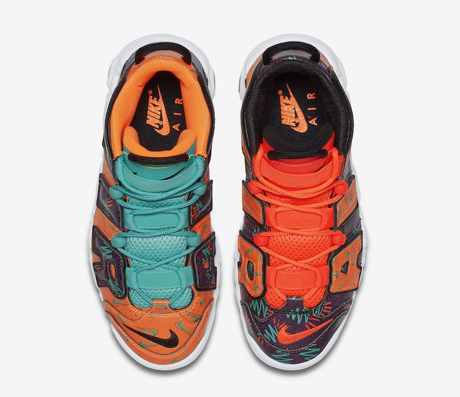 low priced de94f 2d009 Nike Air More Uptempo What The 90s AT3408-800 Release Date-4