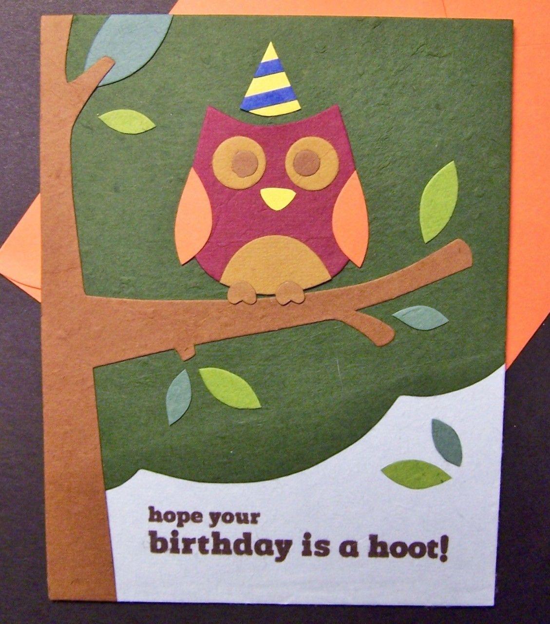 Fair trade designs birthday hoot greeting card 500 httpwww fair trade designs birthday hoot greeting card 500 httpwww m4hsunfo