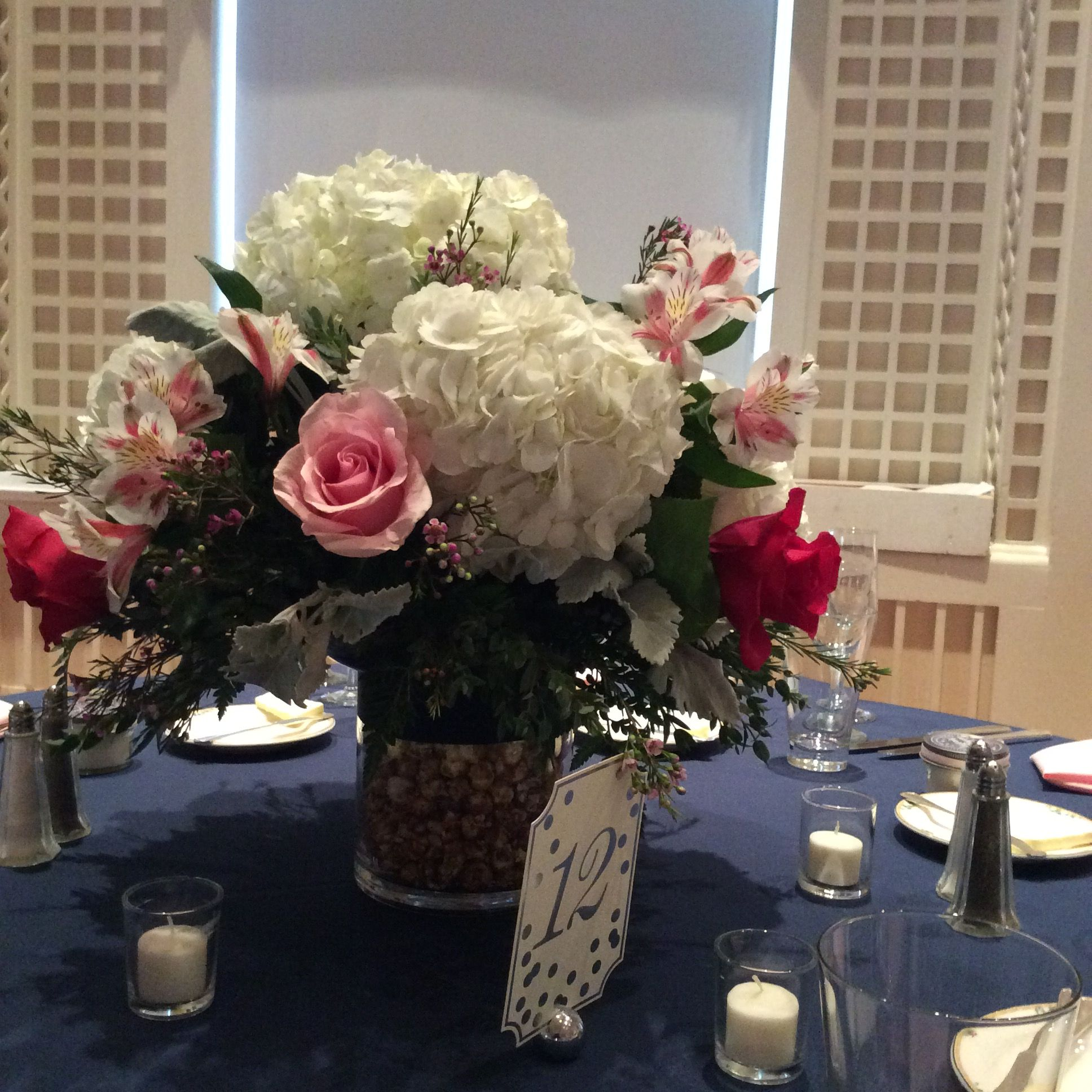Flowers Designed by: Mohican Flowers | Venue: The Otesaga Resort Hotel
