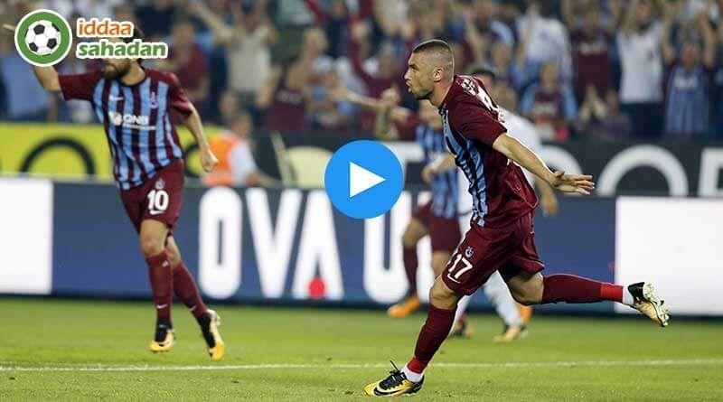 Trabzonspor Bursaspor Mac Ozeti Izle 1 0 16 Aralik 2017 Mac Spor Izleme