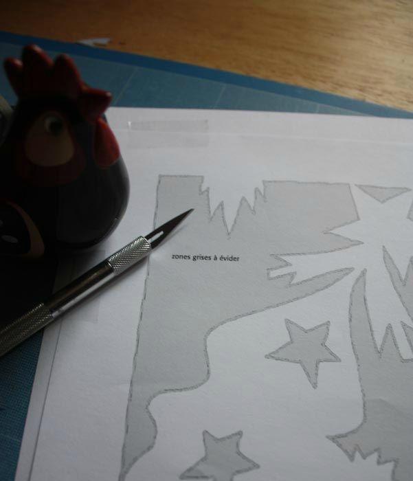 Décor de fenêtre ... - Dans les petits papiers de Lisele...