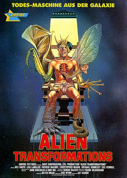 Alien Transformations - 1988 - Movie Poster | Vintage Movie