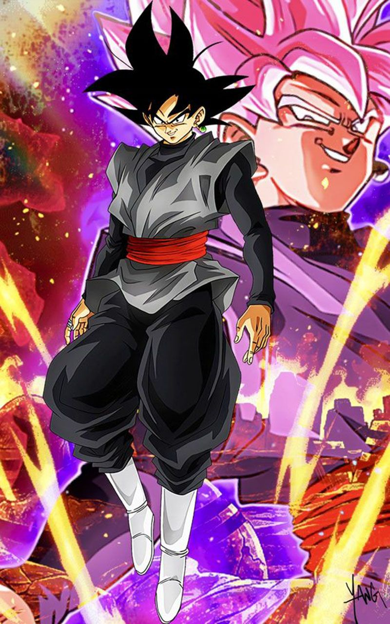 Black Goku Hd Wallpaper Anime Dragon Ball Super Dragon Ball Super Goku Goku Black