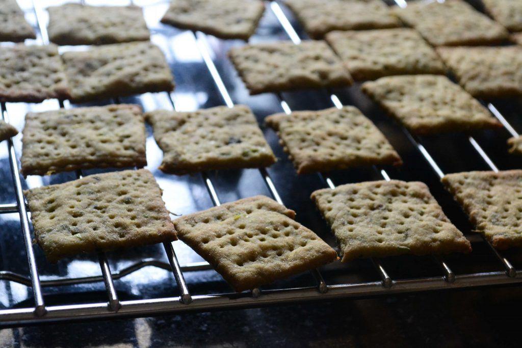 Whole Wheat Masala Crackers Recipe in 2020 Wheat