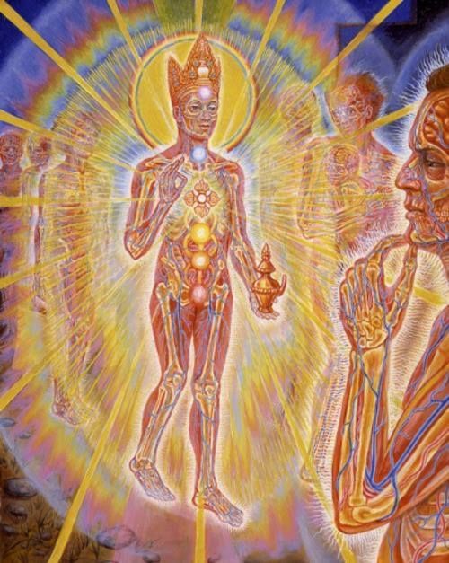 BY ALEX GREY......NATURE OF MIND.......